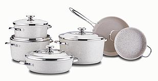 Набор посуды Korkmaz Granita XL 10 предметов