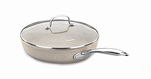 Сковородка с крышкой Korkmaz Granita 24x4.7 см / 2 л