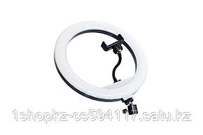 Кольцевая селфи лампа CXB-300 (30см), фото 2