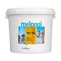 Дезинфектант для бассейна на основе гипохлорита кальция Melpool N.X 70/20, 1 кг