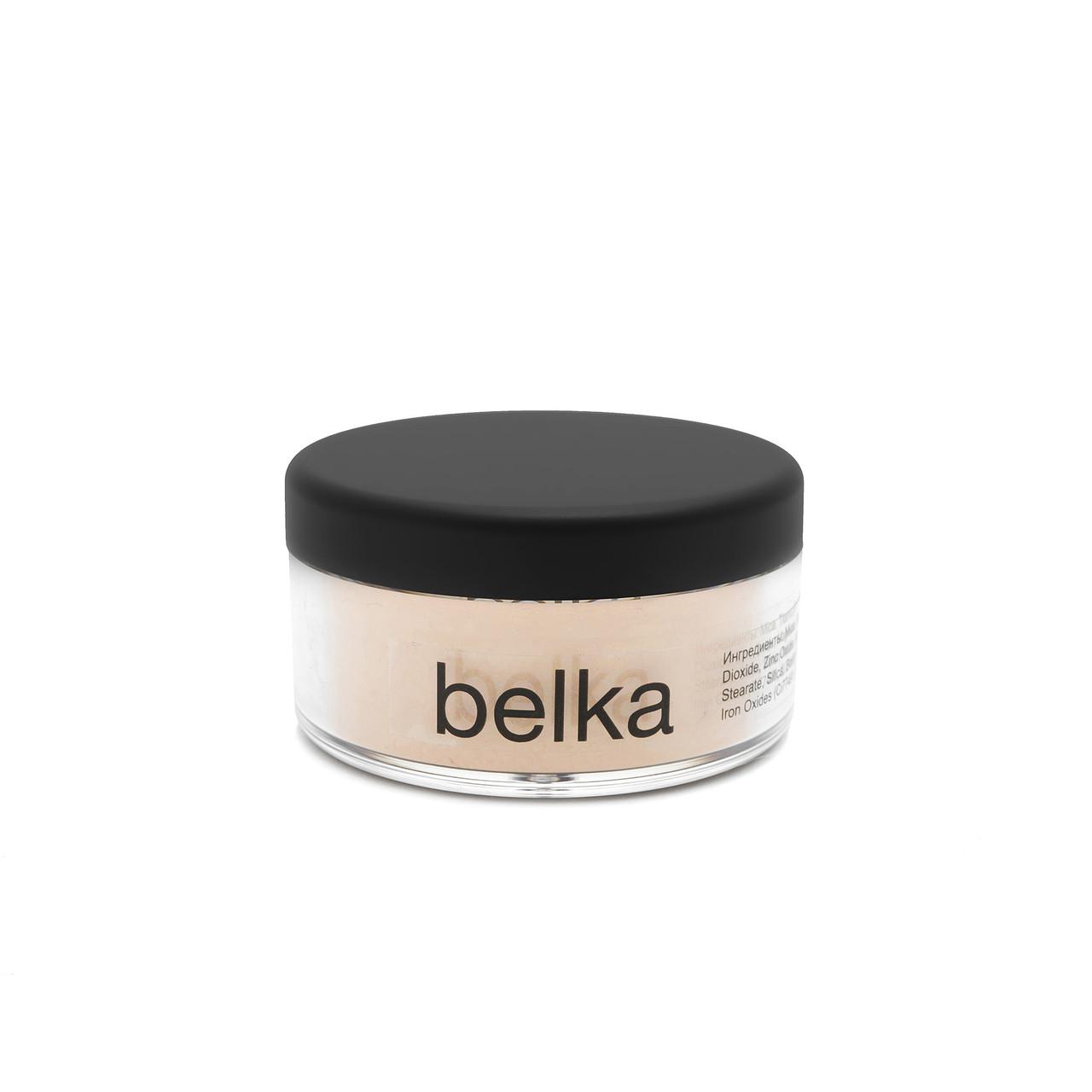 Минеральная пудра-основа, среднее покрытие SPF30 Belka