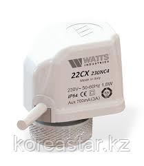 """""""Сервопривод"""" электротермический WATTS 22CX нормально закрытый"""
