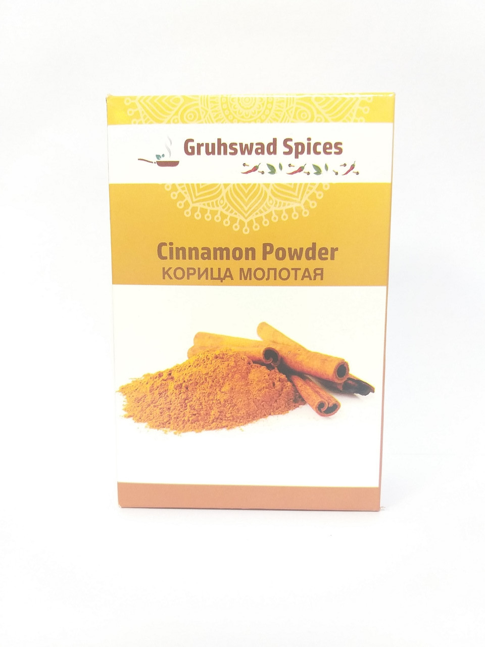 Корица молотая, порошок, 100 гр, Gruhswad Spices