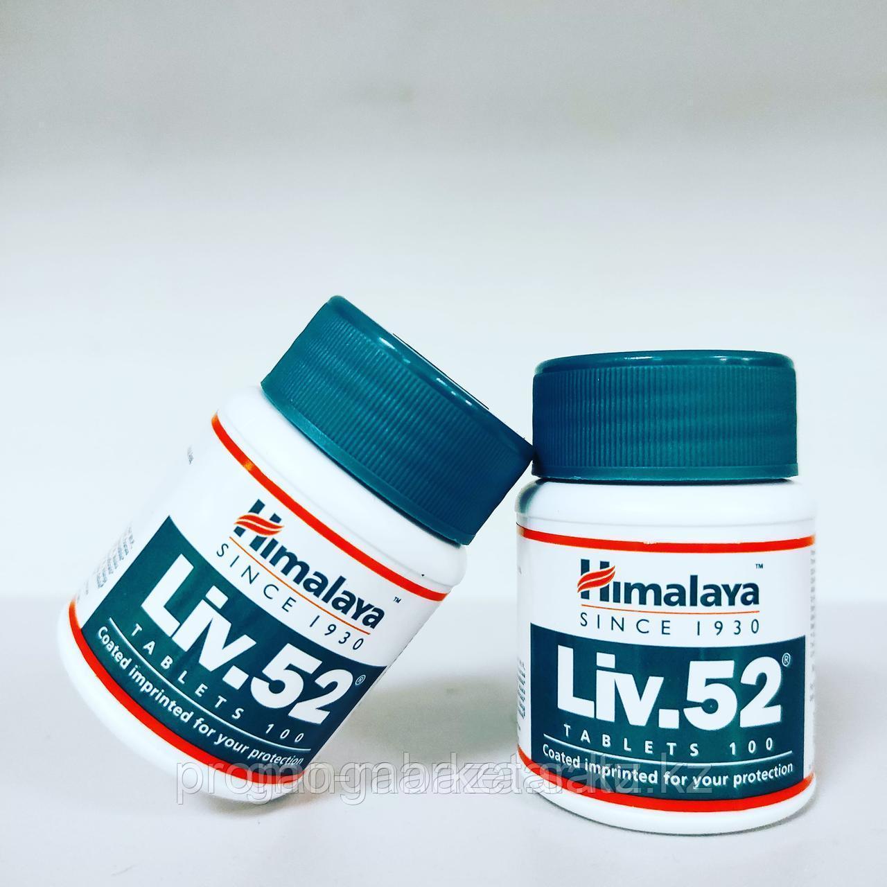 Лив.52 (Liv.52, Himalaya) - для восстановления функции печени, при заболеваниях органов ЖКТ, 100
