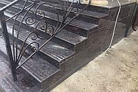 Каменная лестница уличная