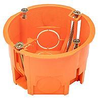 GUSI Подрозетник для полых стен (68х45, IP 20), оранжевый, Негорючий, ПВ-0
