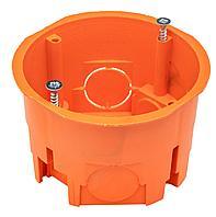 GUSI Подрозетник для сплошных стен (68х45, IP 30), оранжевый, Негорючий, ПВ-0
