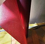 Флекс-глиттер красный (OSG Glitter Red), фото 2