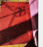 Флекс-глиттер красный (OSG Glitter Red), фото 3