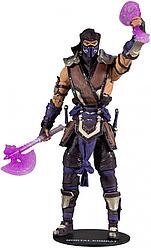 Mortal Kombat Коллекционная фигурка Кровавый Саб-Зиро, Мортал Комбат 11