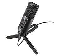 Студийный микрофон Audio-Technica ATR2500x-USB черный