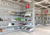Мебель для магазина, Торговое оборудование, торговые стеллажи