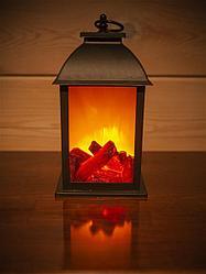 Декоративный светильник Камин.