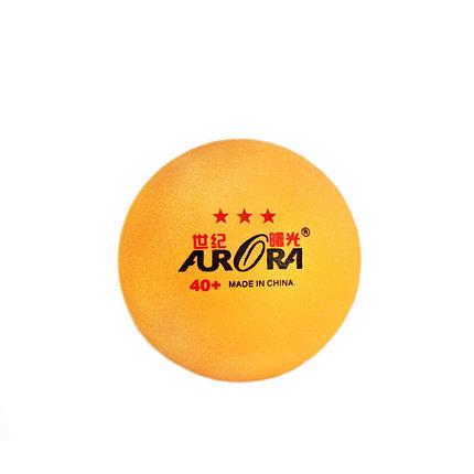 Мячи для настольного тенниса AURORA 40+ 60 шт. (цвет желтый), фото 2