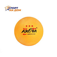 Мяч для настольного тенниса AURORA 40+ (цвет желтый)