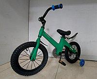 """Детский велосипед """"SpaceBaby"""" 14 колеса. Алюминиевая рама. Легкий. Kaspi RED. Рассрочка."""
