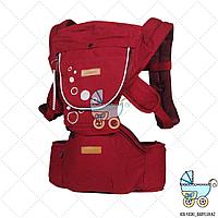 Хипсит рюкзак iMama, красный