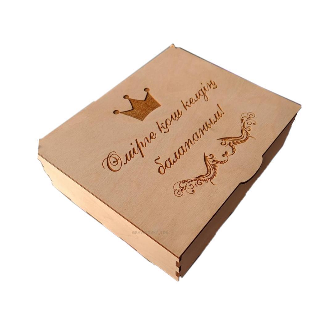 Памятная коробка для новорожденного - фото 2