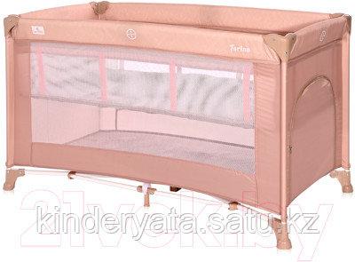 Кровать - манеж Lorelli TORINO 2 Бежевый / Beige String 2115