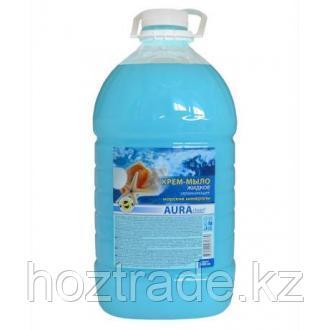 Мыло-крем  жидкое Аура 5 л.