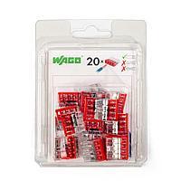 Мини-упаковка клемм «Wago» в блистерах (без контактной пасты) 2273-205/996-020