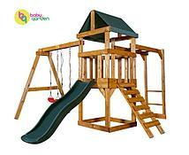 Детская игровая площадка Babygarden Play 3 (цвет в ассортименте) (Темно-зеленый)