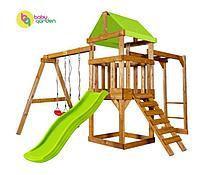 Детская игровая площадка Babygarden Play 3 (цвет в ассортименте) (Светло-зеленый)