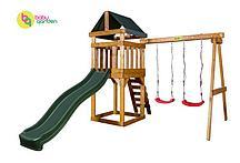 Детская игровая площадка Babygarden Play 2 (цвет в ассортименте) (Темно-зеленый)