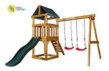 Детская игровая площадка Babygarden Play 1 (цвет в ассортименте) (Темно-зеленый)