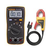 Комплект - мультиметр Fluke 107 с токовыми клещами Fluke I400E ERTA