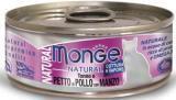 Monge Natural 80г тунец и цыпленок с говядиной Влажный корм для кошек