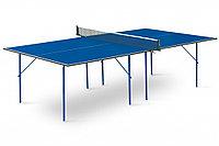Стол теннисный Start line Hobby Light BLUE с сеткой (6016), фото 1