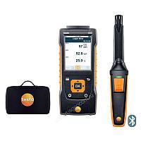 Комплект Testo 440 с Bluetooth-зондом CO2 и кейсом