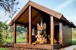 Будки и вольеры для собак