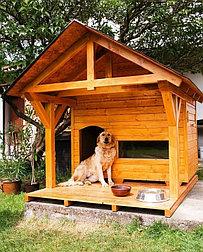 Будка для собаки Domus 150х170см