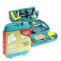 Набор инструментов многофункциональный в пластиковом кейсе «27 помощников» LOM