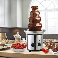 Шоколадный фонтан-фондю из 5 уровней «Большой шоколадопад»