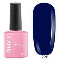 №226 Гель-лак PINKY Classic Тёплое Море 10мл. (синий насыщенный)