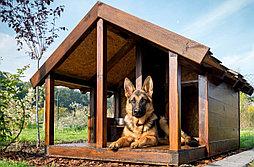 Будка для собаки WELCOME 80х200см