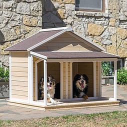 Будка для собаки Apeks 80х60см