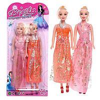 Набор кукол моделей «Лучшие подружки» в платье
