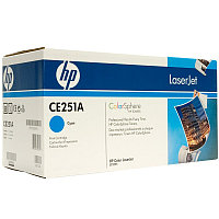 Картридж HP CE251A Cyan Print Cartridge for Color LaserJet CM3530/fs/CP3525dn/n/x, up to 7000 pages