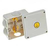 GUSI Коробка Уравнивания потенциалов 100×100×50, крышка на винтах, IP55, ОП