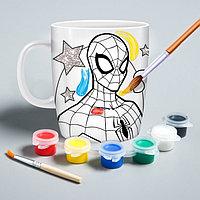 Кружка под роспись «Spider-Man» , Человек-Паук, 250 мл