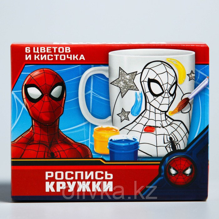 Кружка под роспись «Spider-Man» , Человек-Паук, 250 мл - фото 4