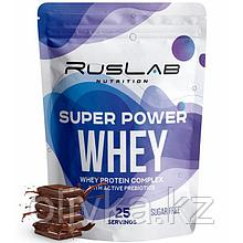 Протеин RusLabNutrition Super Power Whey Шоколад, 800 г