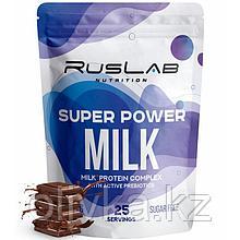 Протеин RusLabNutrition Super Power Milk Шоколад, 800 г