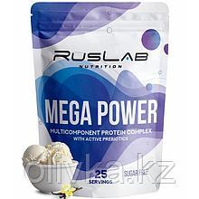 Протеин RusLabNutrition Mega Power Ванильное мороженое, 800 г