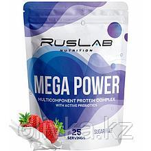 Протеин RusLabNutrition Mega Power Клубника со сливками, 800 г
