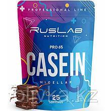 Протеин RusLabNutrition Casein Pro 65 Шоколад, 800 г